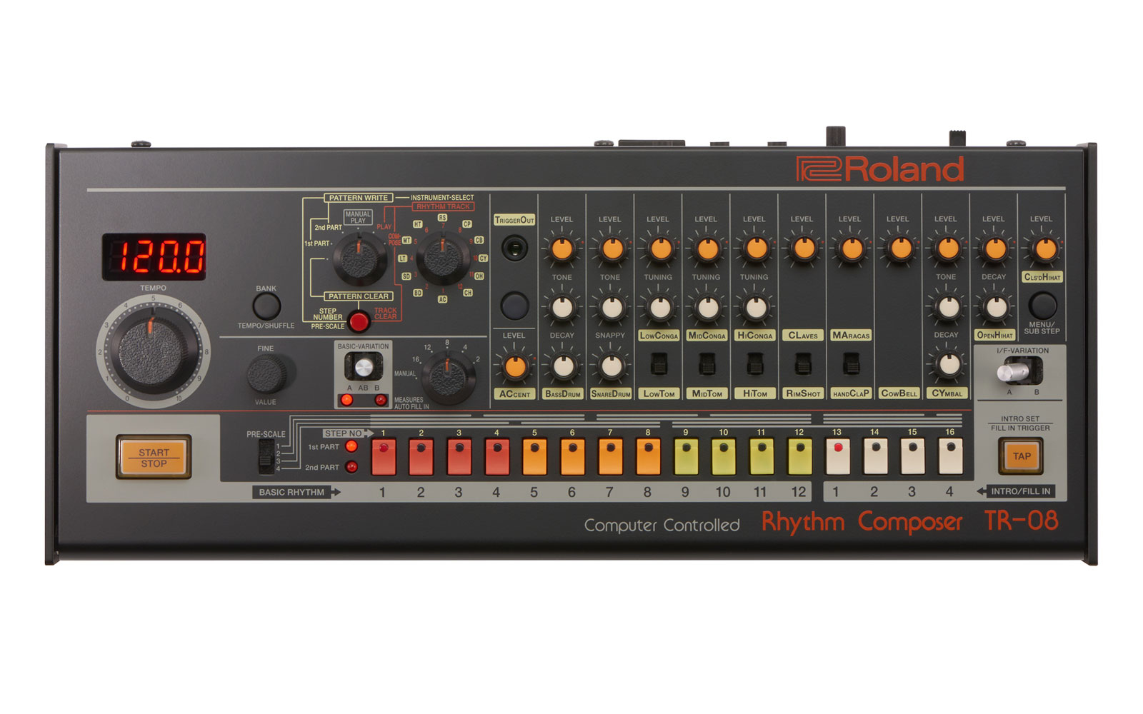 Roland revives the TR-808