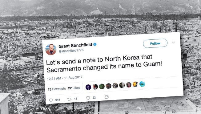 Radio host appears to suggest N. Korea should attack Sacramento
