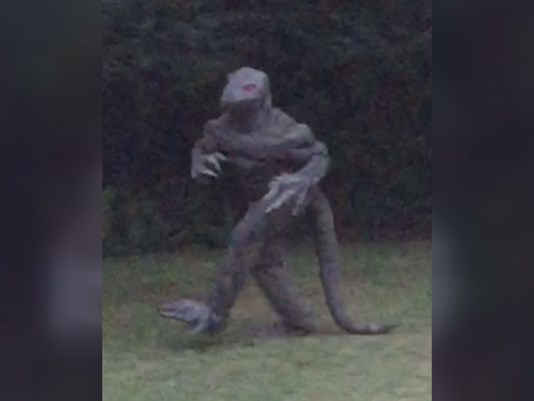 Be on the lookout for lizard men, South Carolina