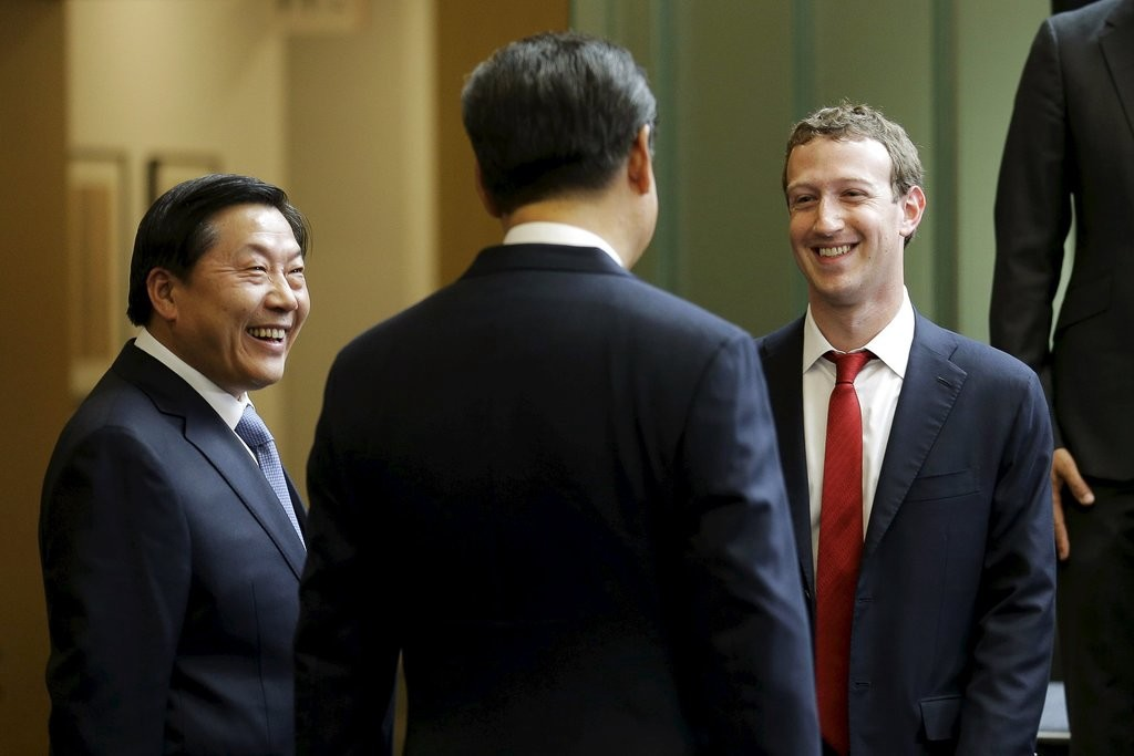Facebook linked to photo-sharing app released in China