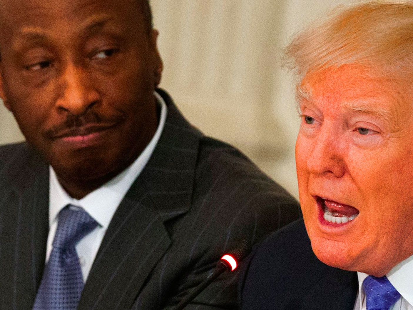 Trump blasts CEOs who quit advisory panels as