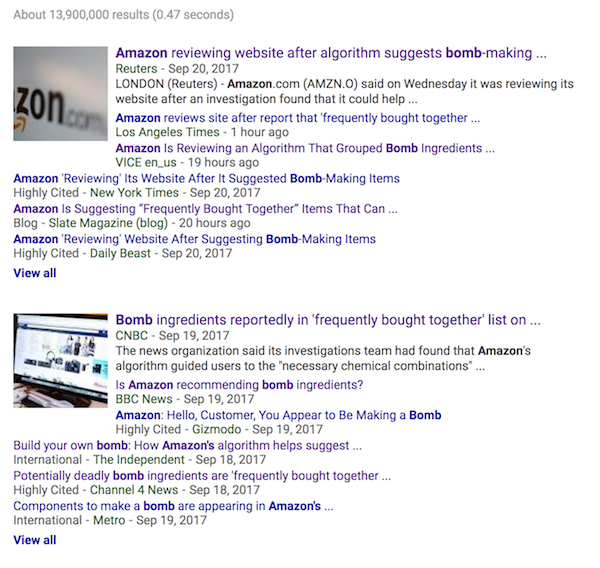 UK press doesn't understand chemistry or Amazon, launches bomb-making panic