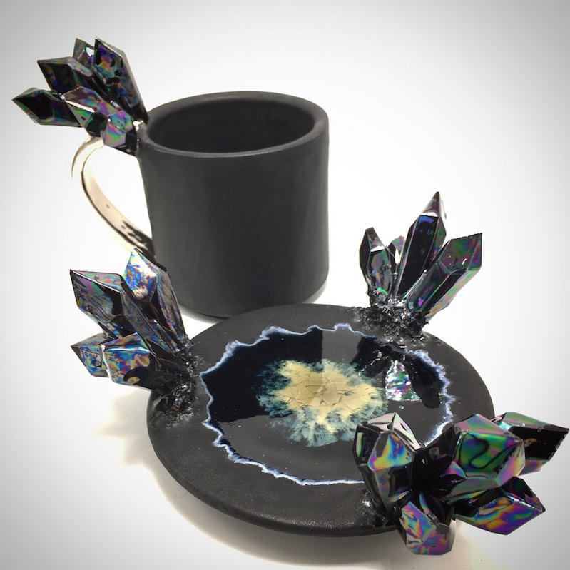 Cool Crystalline Ceramic Mugs Boing Boing