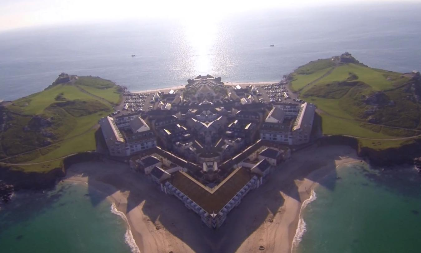 Drone Footage Mirrored To Create Surreal Kaleidoscopic Landscapes Boing