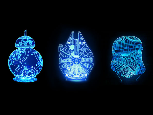 These 3D lamps made the Kessel Run in less than 12 parsecs