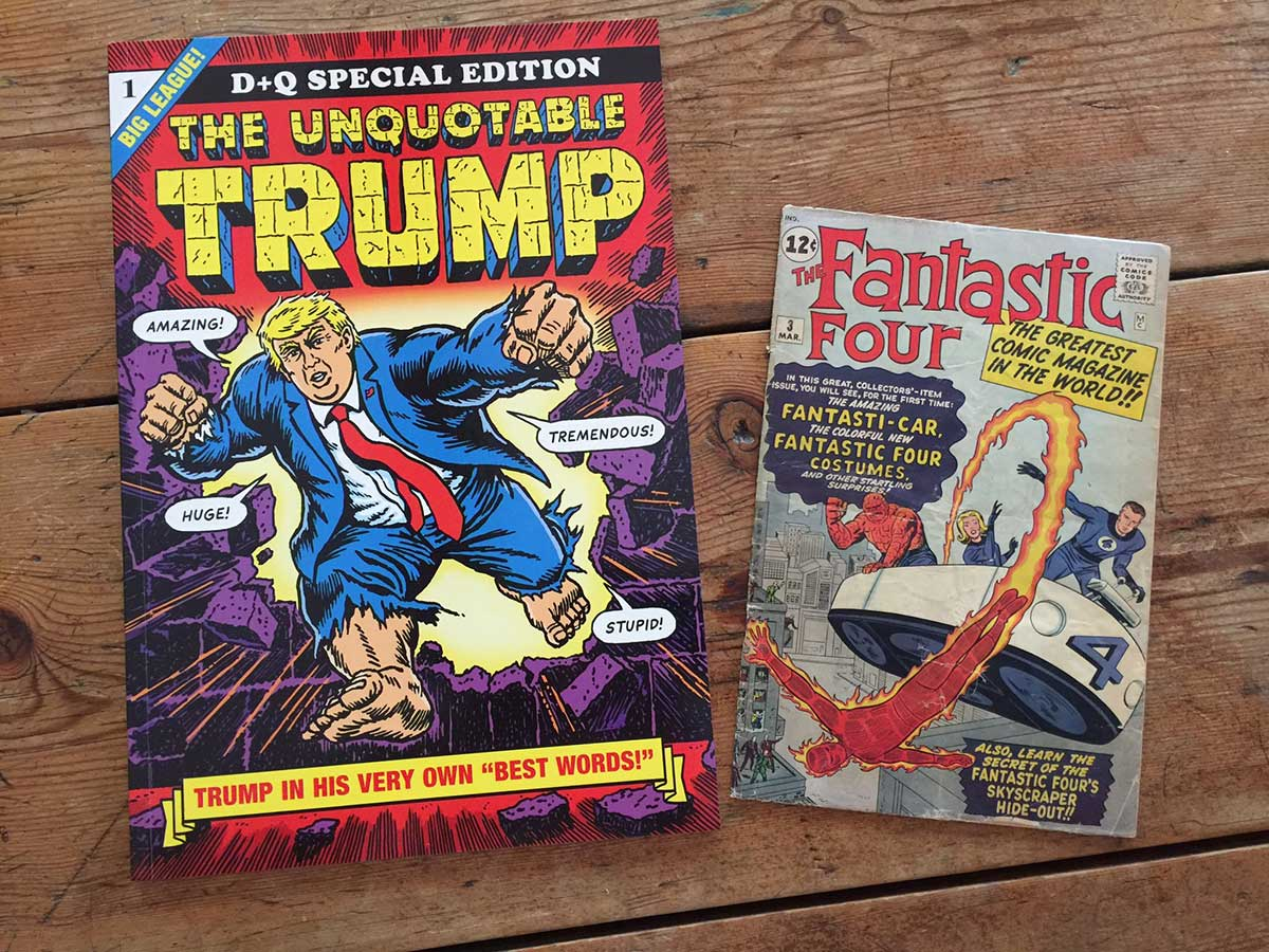 trump s dumbest utterances presented as comic book covers boing boing