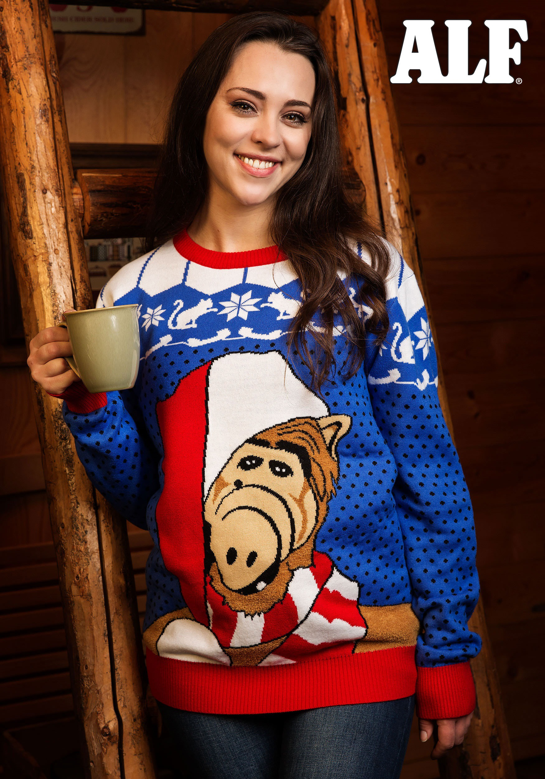 A fugly ALF Christmas Sweater exists