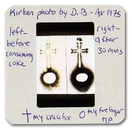 Image result for kirlian photography david bowie