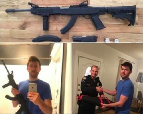Arizona man receives death threats for handing in guns to police