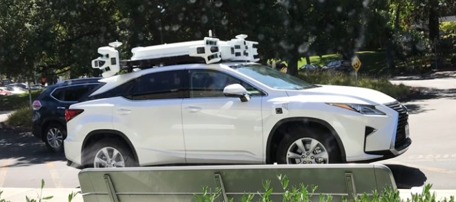 Here is Apple's self-driving car prototype / Boing Boing