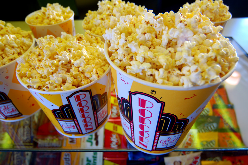 Image result for movie popcorn