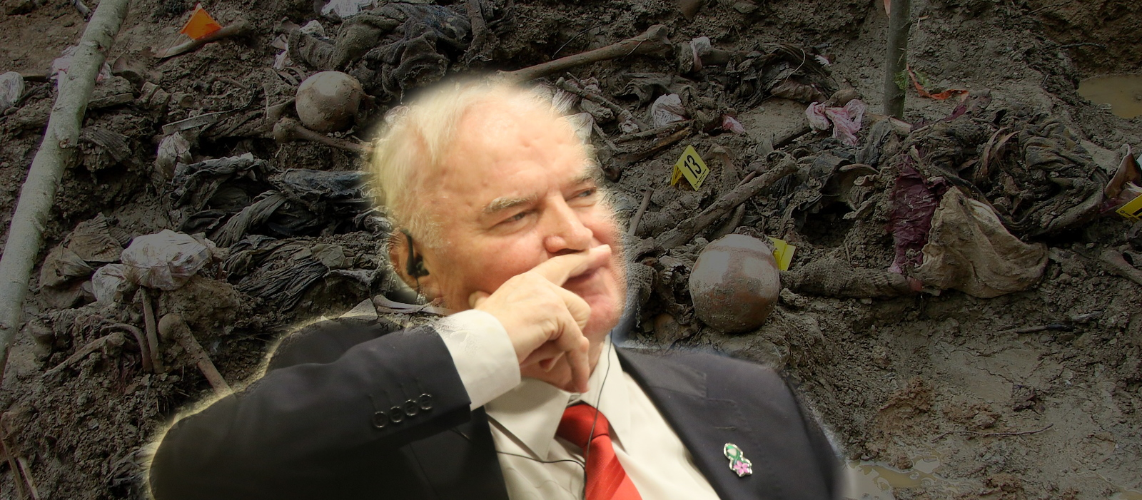 Mladic the genocide: a moment of silence for the Balkans' lost lives, honor and credibility