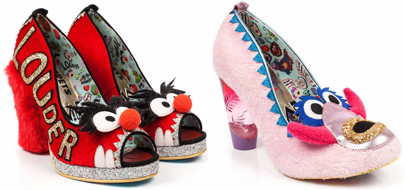 04f80d1b8bcf My friend JoAnne Yada shared this quirky collection of Muppets shoes the  other night on Facebook and I nearly jumped out of my seat.