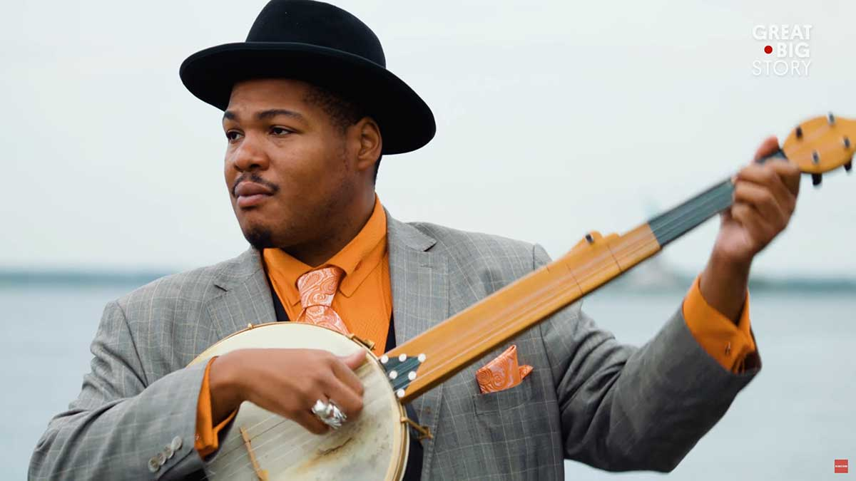 Profile of musician Jerron Blind Boy Paxton