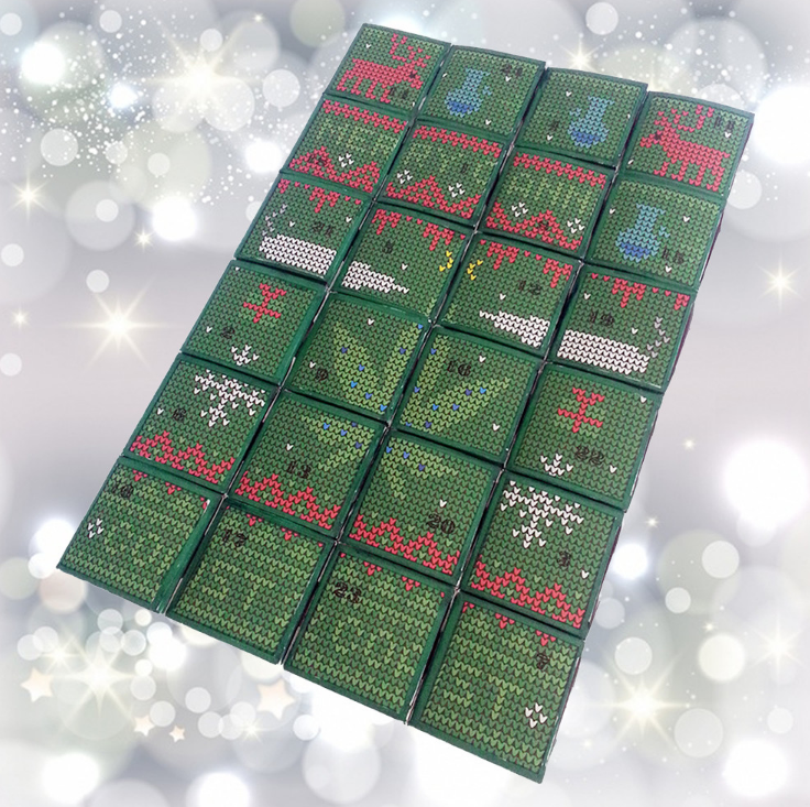 There's an advent calendar full of weed