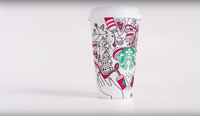 Get Outraged With Possible Lesbians Holding Hands On A Starbucks Coffee Cup Boing