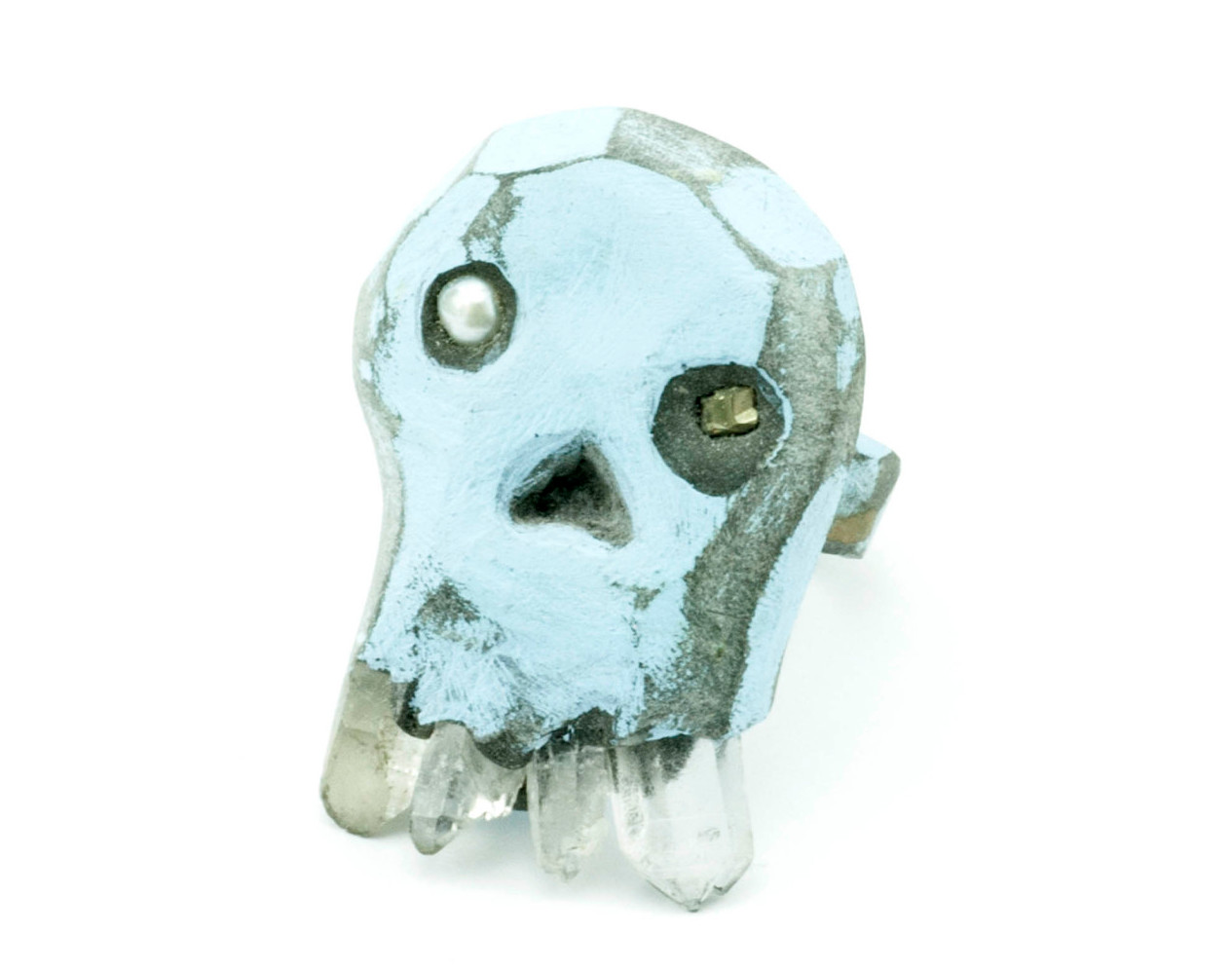 Skulls boing boing eccentric skull ring voltagebd Image collections