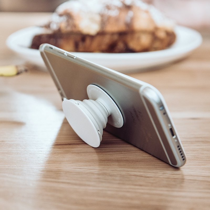 A tiny stand for your smartphone or tablet