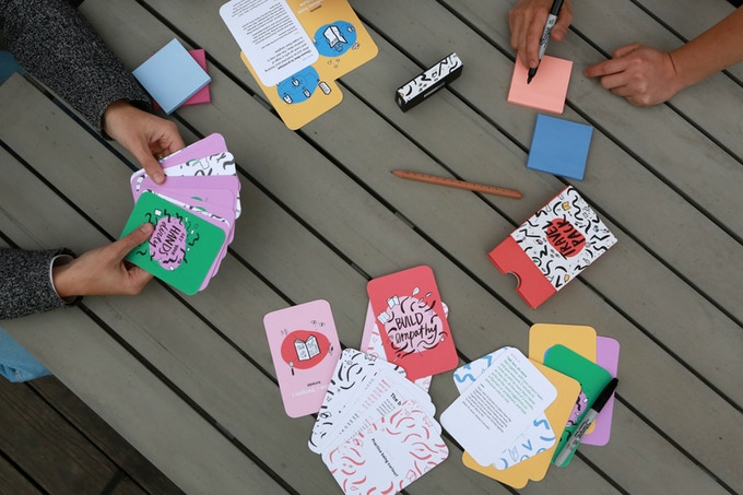 IDEO.org has designed cards to 'spark creativity and collaboration'
