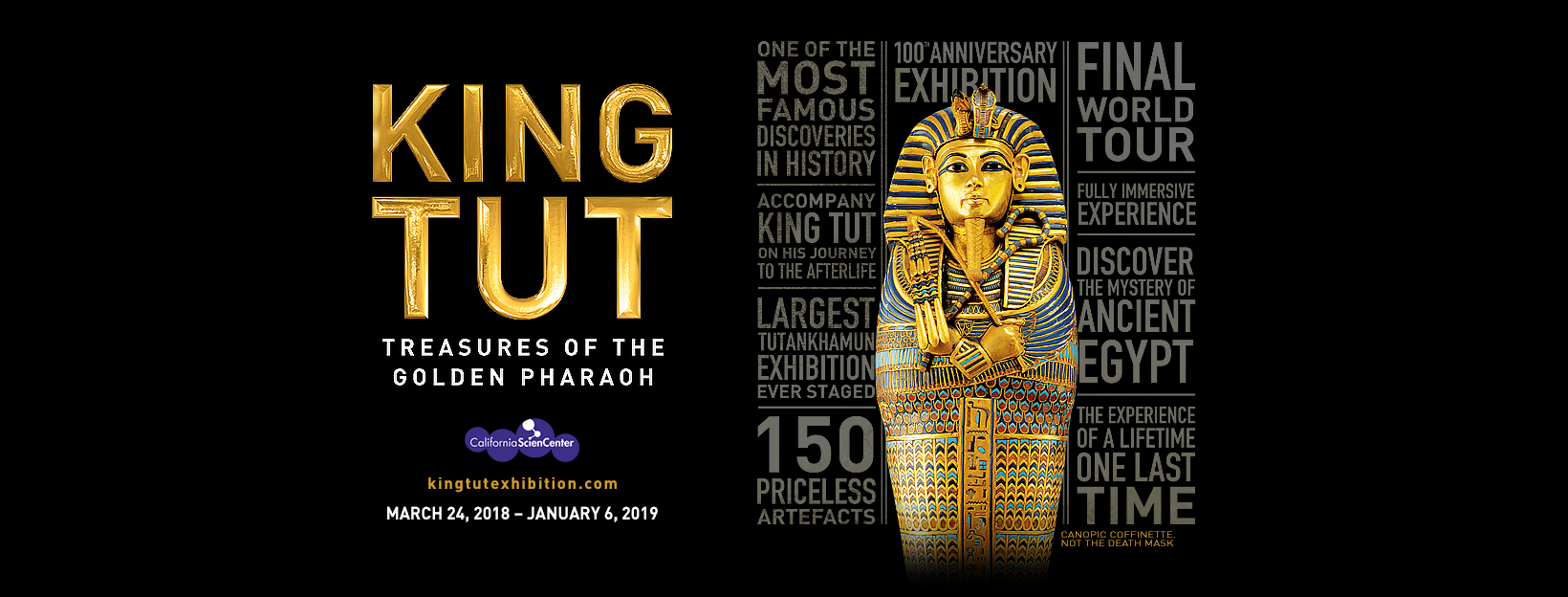 king tut exhibition starts its final world tour in los angeles