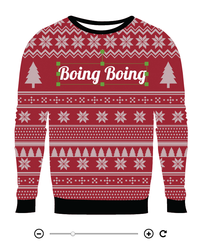 Ugly Christmas Sweater Design.Design Your Own Ugly Sweater With This Sweater Customizer