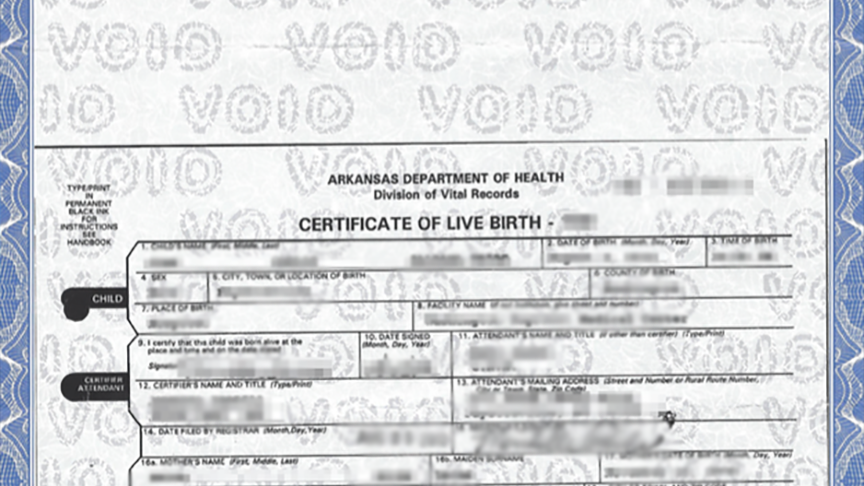 No Birth Certificates Allowed For Arkansas Newborns Boing Boing