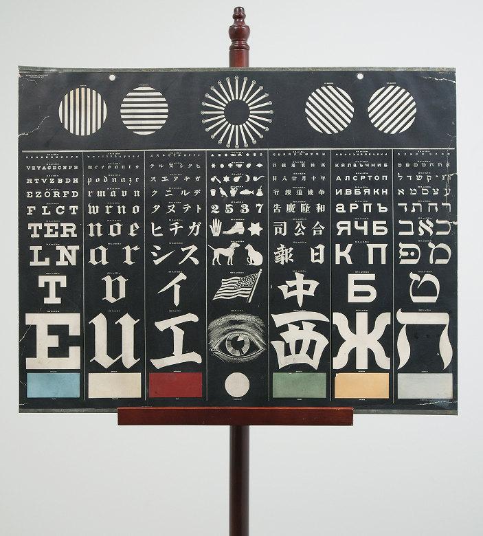 An International Eye Chart From 1907 Boing Boing
