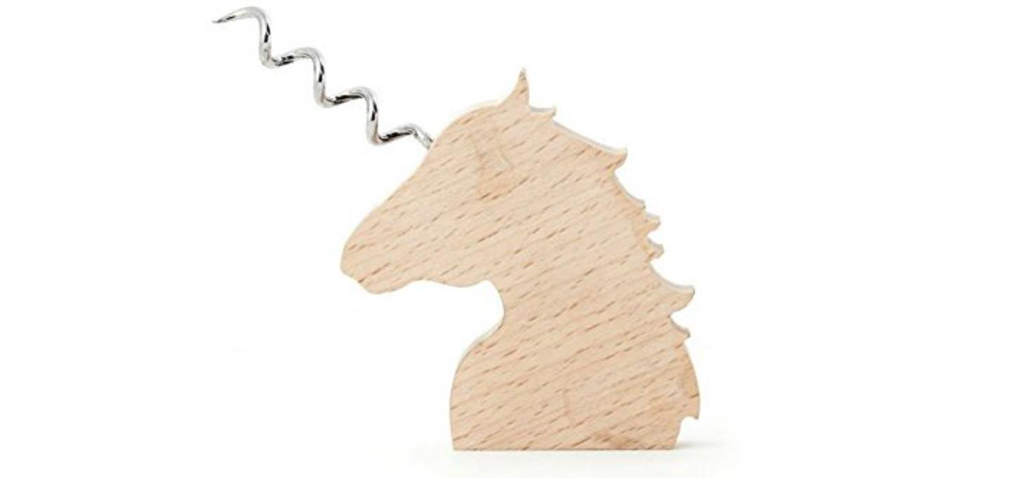 Unicorn corkscrew, for your chasers