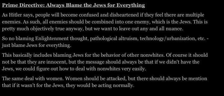 Nazi blog style guide