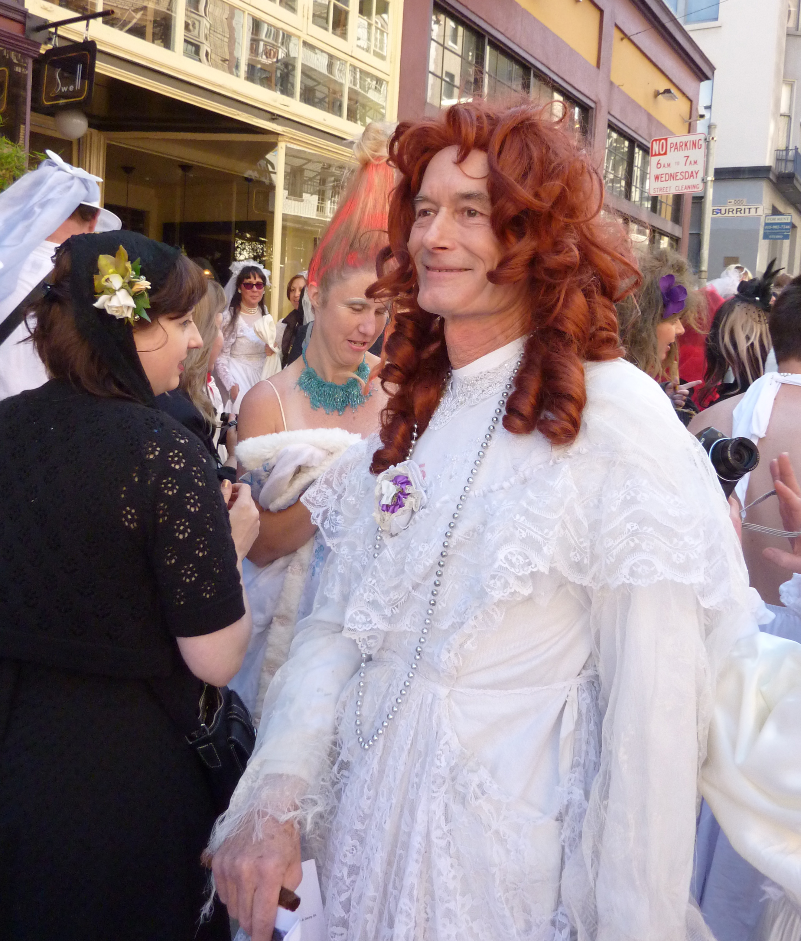 SF peeps: Paint the town white with the 'Brides of March'