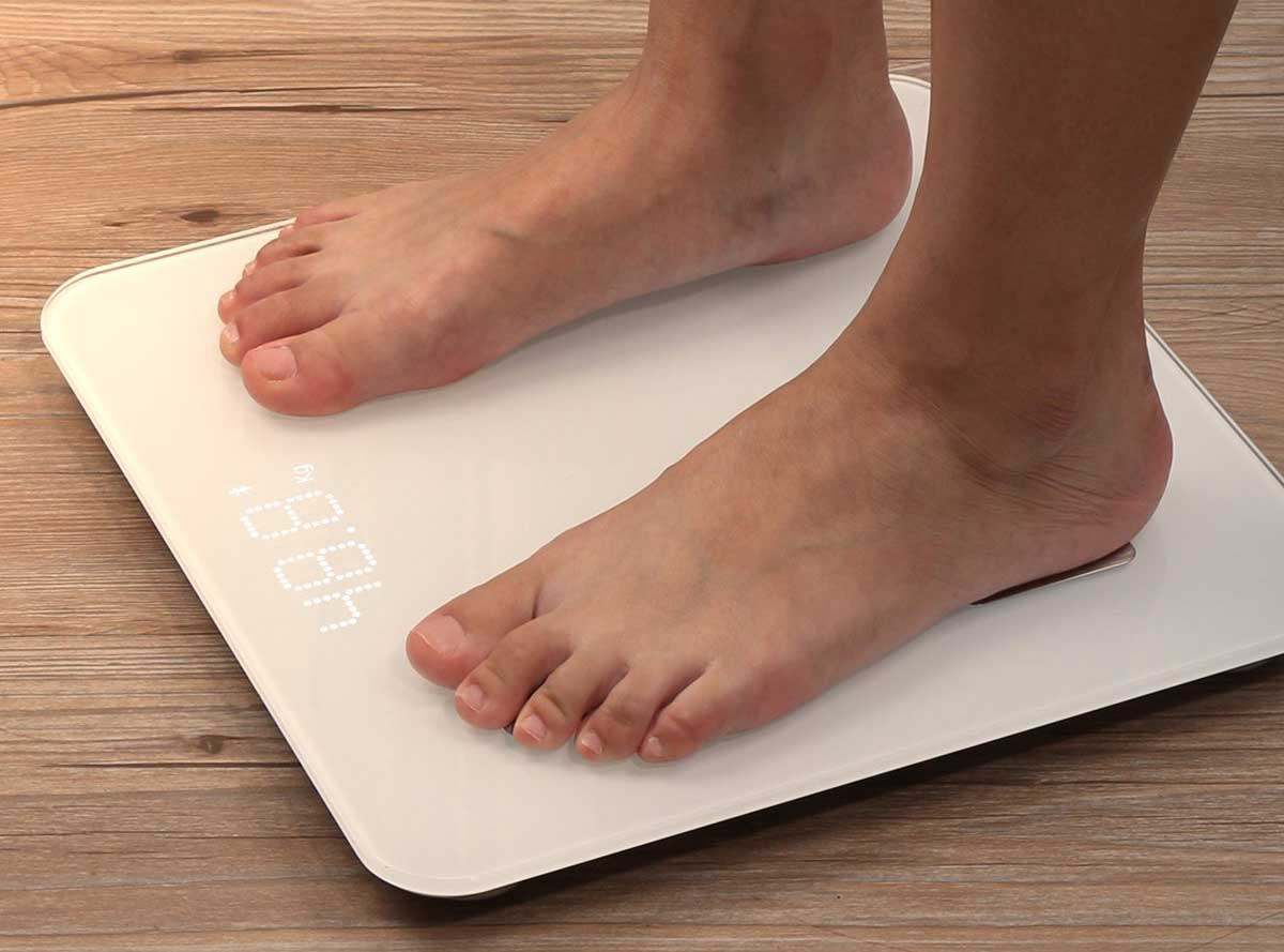 Good deal on a Wi-Fi bodyweight scale: $25