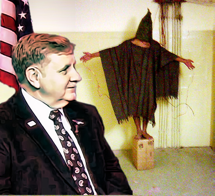 The Republican candidate for Pennsylvania's 18th District is a torture advocate who worked at Abu Ghraib