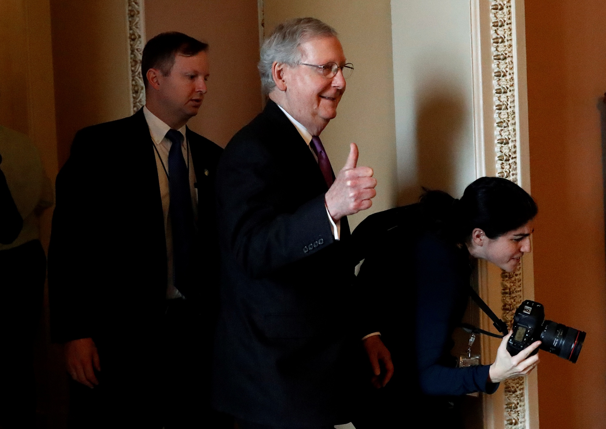 End to Federal shutdown in sight: Senate has votes to pass bill to reopen government