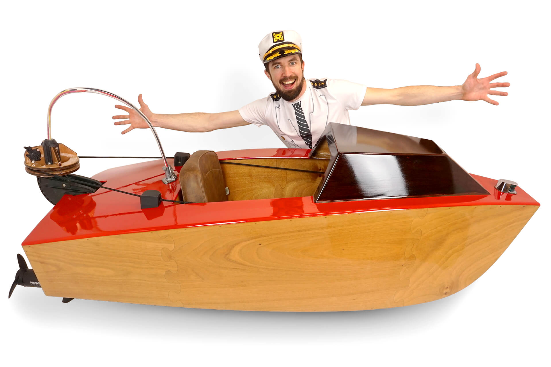 a mini boat you can build yourself with zip ties and epoxy boing boing
