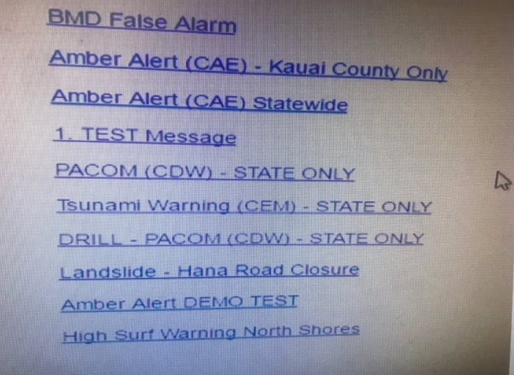 Bad design this is the menu where a wrong click triggered the bad design this is the menu where a wrong click triggered the hawaii missile alert saturday boing boing sciox Images