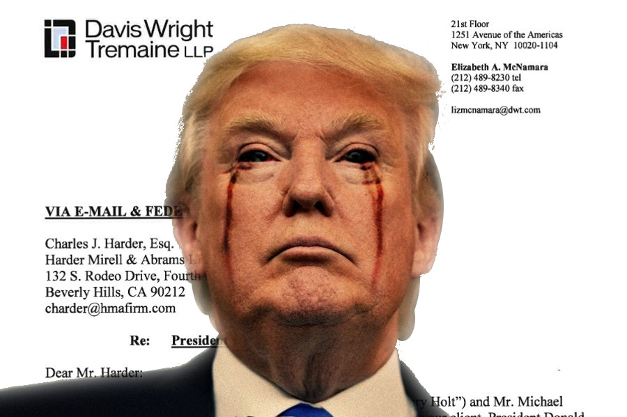 Donald Trump is suing my publisher, and its response is magnificent