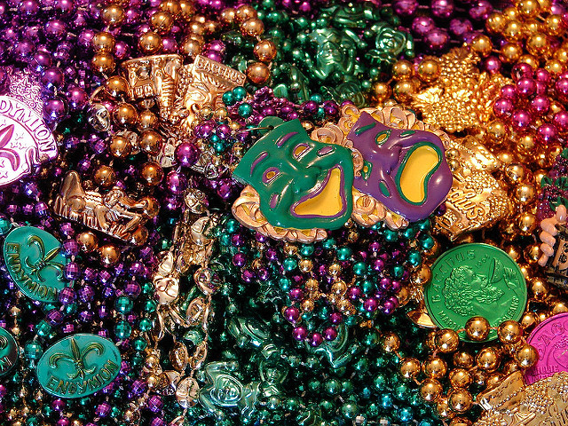New Orleans Pulls 46 Tons Of Mardi Gras Beads From Storm