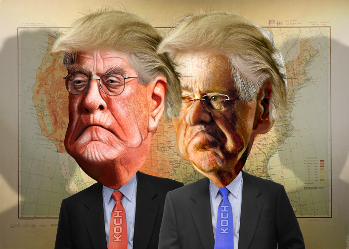 Koch brothers publish letter crowing about all the ways Trump spent the year carrying water for them