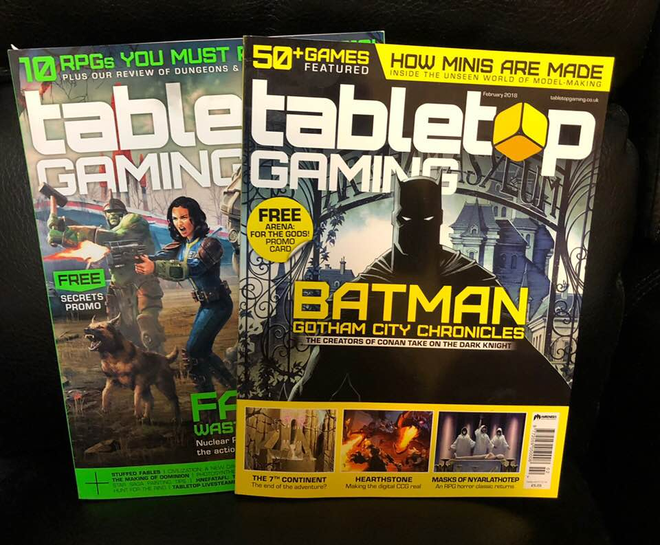 In search of an awesome general interest gaming magazine