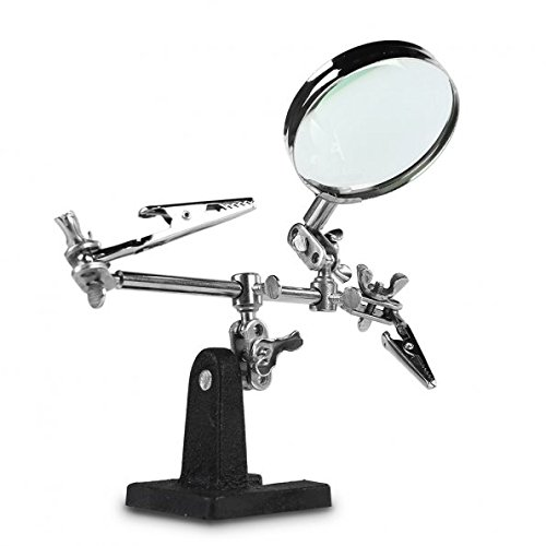 This $7 magnifying glass with alligator clips comes in 'handy'