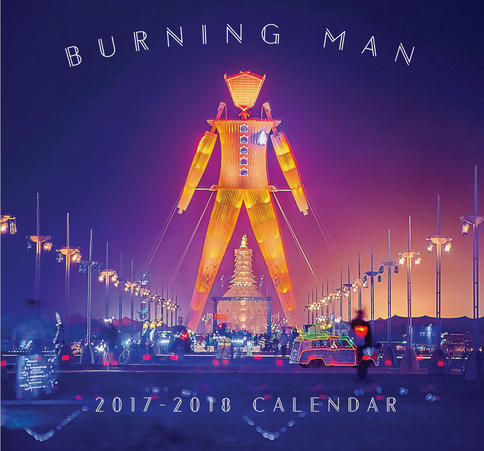 There's a semi-secret Burning Man calendar that you can (shockingly) buy