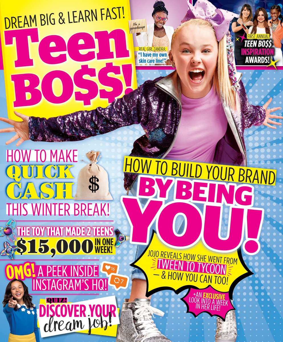 Teen bo a magazine advising tweens on how to get rich for How to get a rich look