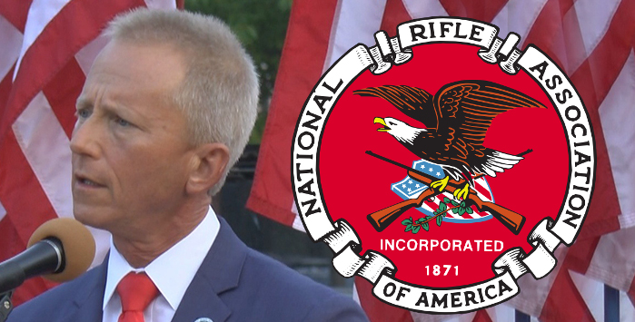 Taking money from the NRA disqualifies you from running for office as a Democrat