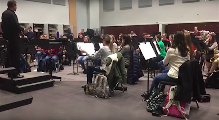University band pranks director by playing Mii Channel theme song instead of Bach