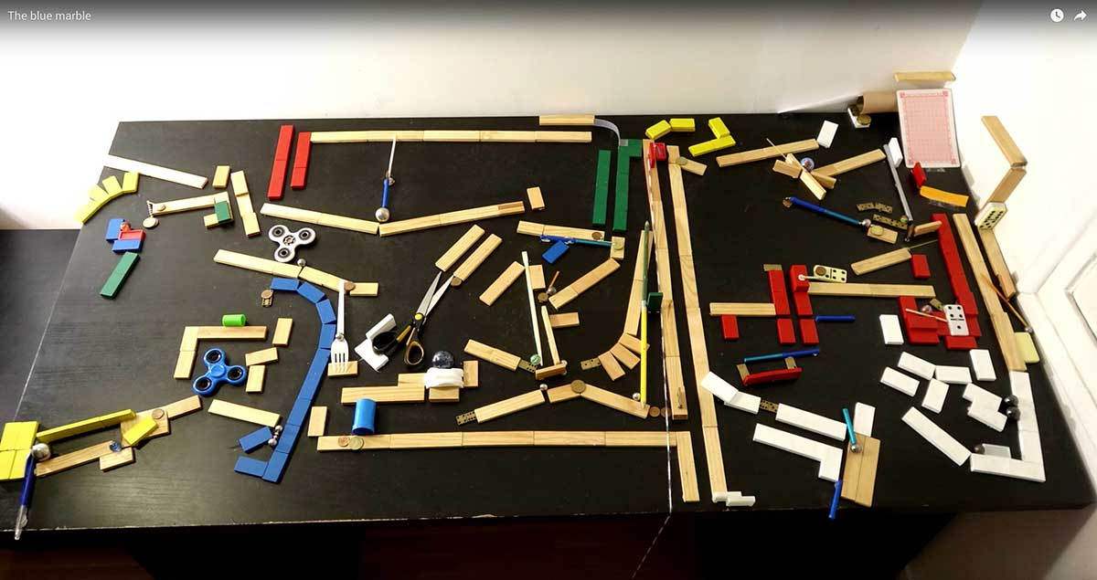 The Best Chain Reaction Rube Goldberg Machine I Ve Seen