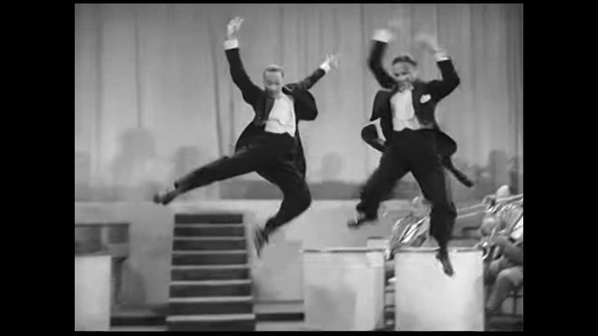 """Fred Astaire said this was """"'the greatest dancing he had ever seen on film"""""""