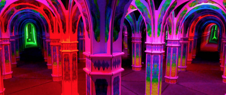 Psychedelic 'Mirror Maze' is a hidden gem deep within popular San Francisco tourist trap