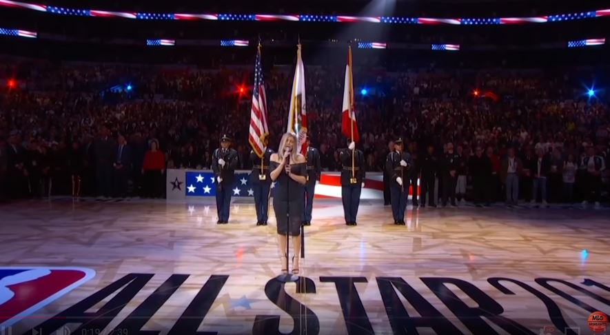 Fergie's rendition of Star-Spangled Banner legendary by dawn