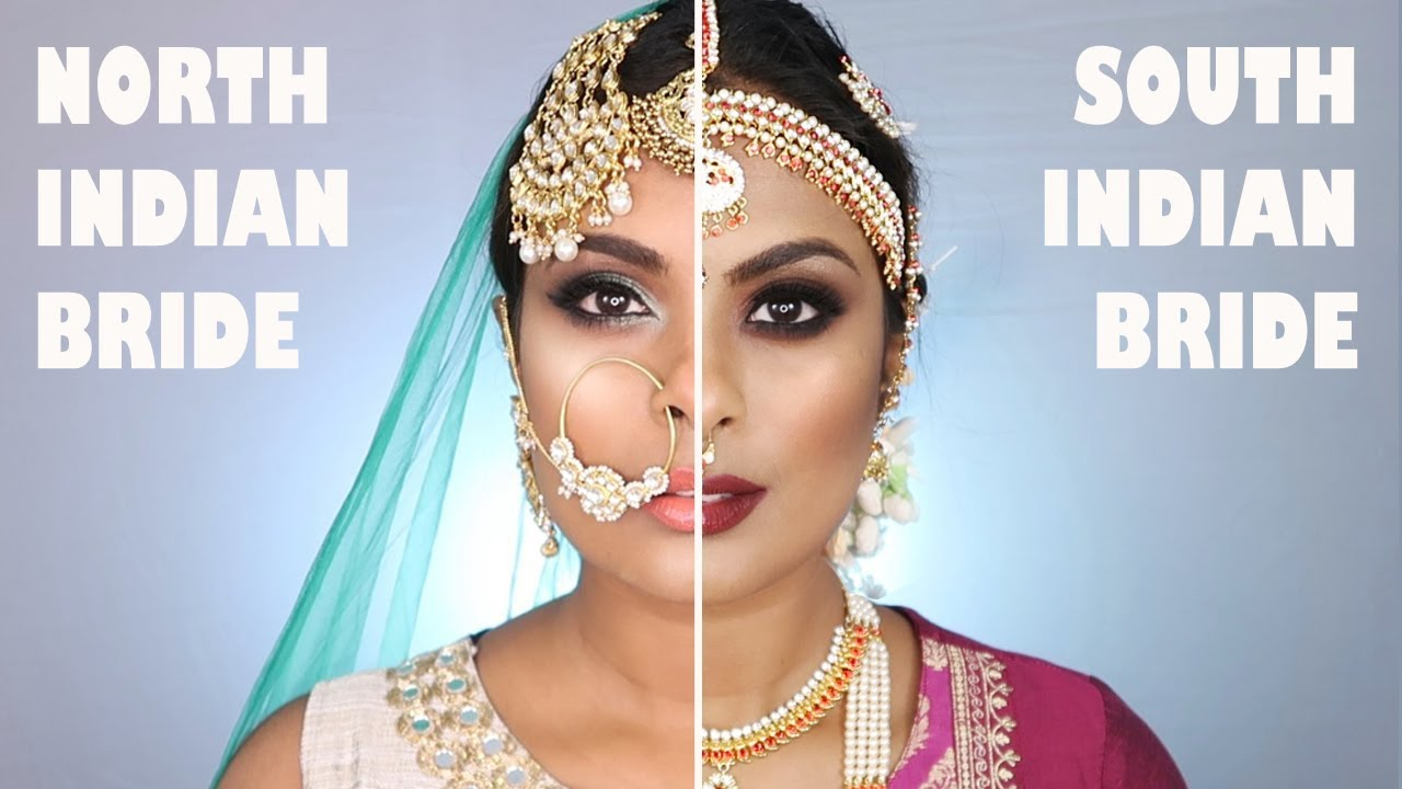 A guide to North Indian vs. South Indian bridal makeup