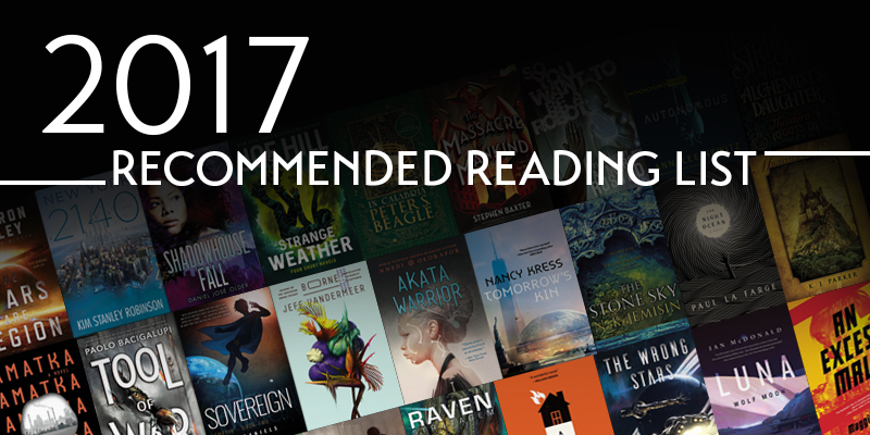 The 2017 Locus List: a must-read list of the best science fiction and fantasy of the past year